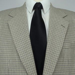 Nordstrom Wool Silk Blend Sport Coat Jacket 42L